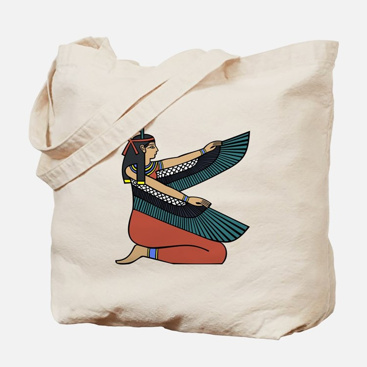 Egyptian Goddess Maat Tote Bag