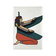 Egyptian Goddess Maat Rectangle Magnet