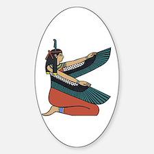 Egyptian Goddess Maat Decal