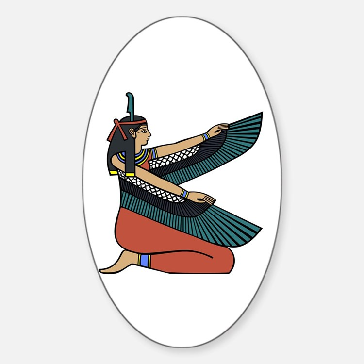 Egyptian Goddess Maat Decal