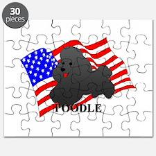 Poodle USA Puzzle