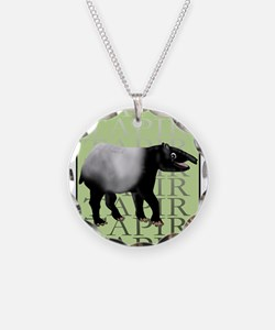 Tapir t-shirt Necklace