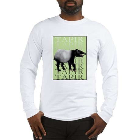 Tapir t-shirt Long Sleeve T-Shirt