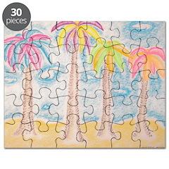 Colorful Palms Puzzle