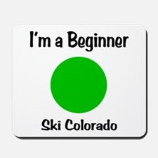 Beginner Ski Colorado Mousepad