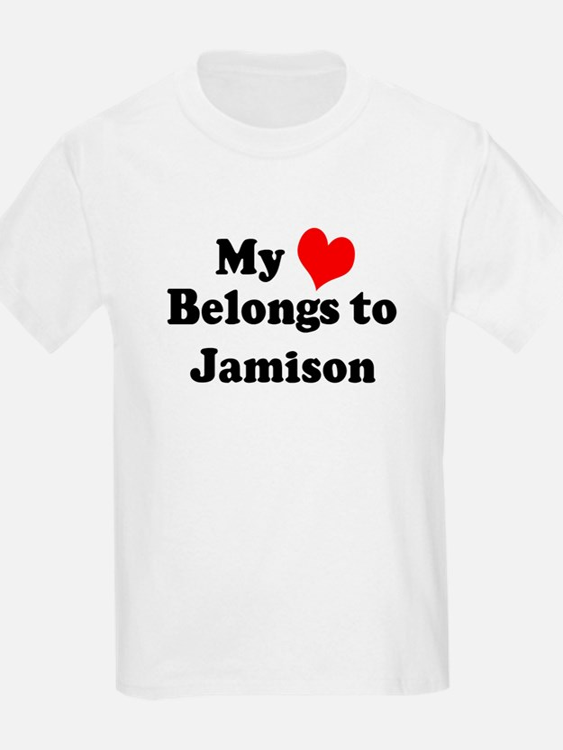 My Heart: Jamison Kids T-Shirt