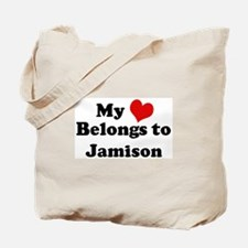 My Heart: Jamison Tote Bag