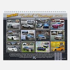 2013 Last Call! Mustangs V4 Facebook Wall Calendar
