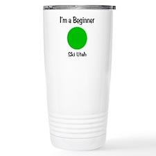 Beginner Ski Utah Travel Mug