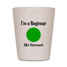 Beginner Ski Vermont Shot Glass
