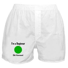Beginner Ski Vermont Boxer Shorts