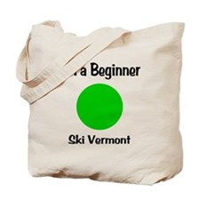 Beginner Ski Vermont Tote Bag
