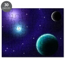 Blue-Purple Starscape Puzzle