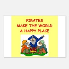 pirates Postcards (Package of 8)