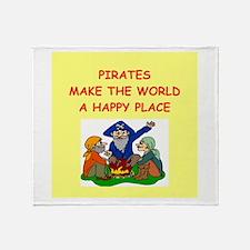 pirates Throw Blanket
