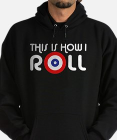 This Is How I Roll Curling Hoodie