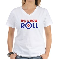 This Is How I Roll Curling Shirt
