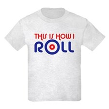 This Is How I Roll Curling T-Shirt