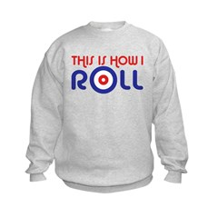 This Is How I Roll Curling Sweatshirt