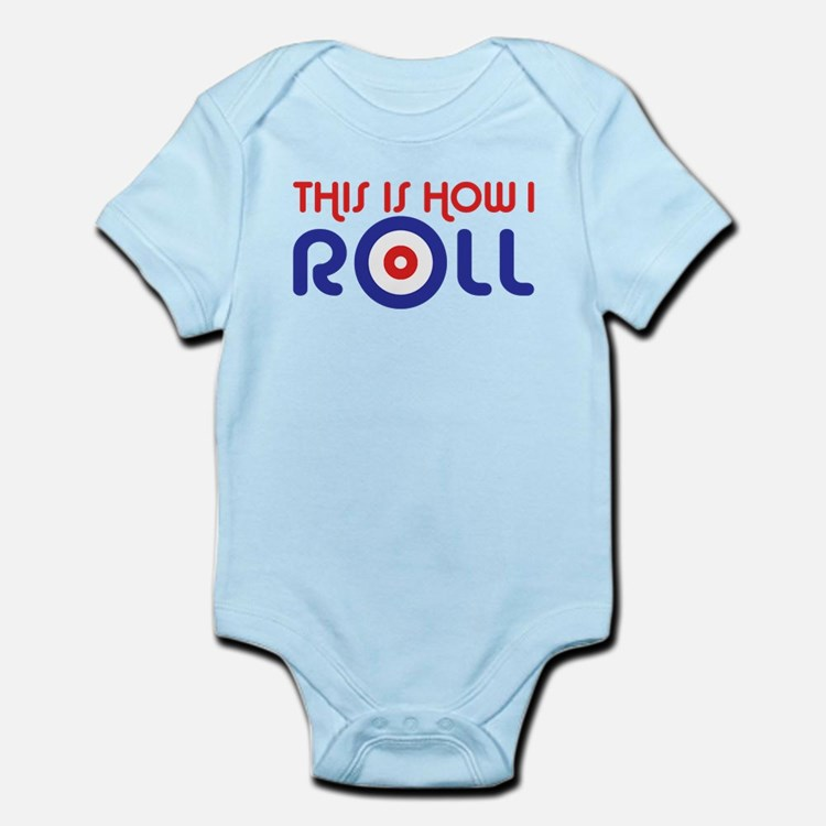 This Is How I Roll Curling Infant Bodysuit