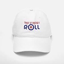 This Is How I Roll Curling Baseball Baseball Cap