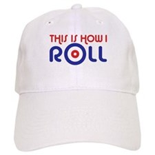This Is How I Roll Curling Baseball Cap