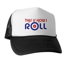 This Is How I Roll Curling Trucker Hat