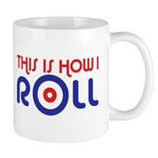 This Is How I Roll Curling Mug