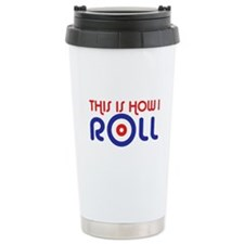 This Is How I Roll Curling Travel Mug