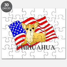 Chihuahua USA Puzzle