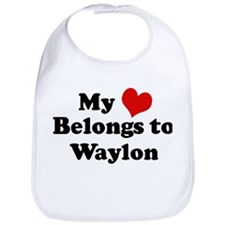 My Heart: Waylon Bib