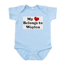 My Heart: Waylon Infant Creeper