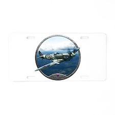 Cute World war ii veteran Aluminum License Plate