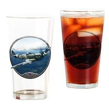 Cute World war 2 Drinking Glass