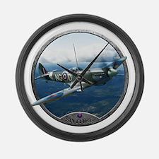 Cute Airplane Large Wall Clock