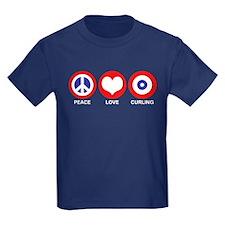 Peace Love Curling T