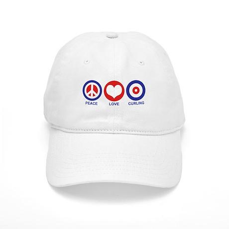 Peace Love Curling Cap