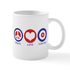 Peace Love Curling Mug