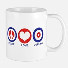 Peace Love Curling Mug