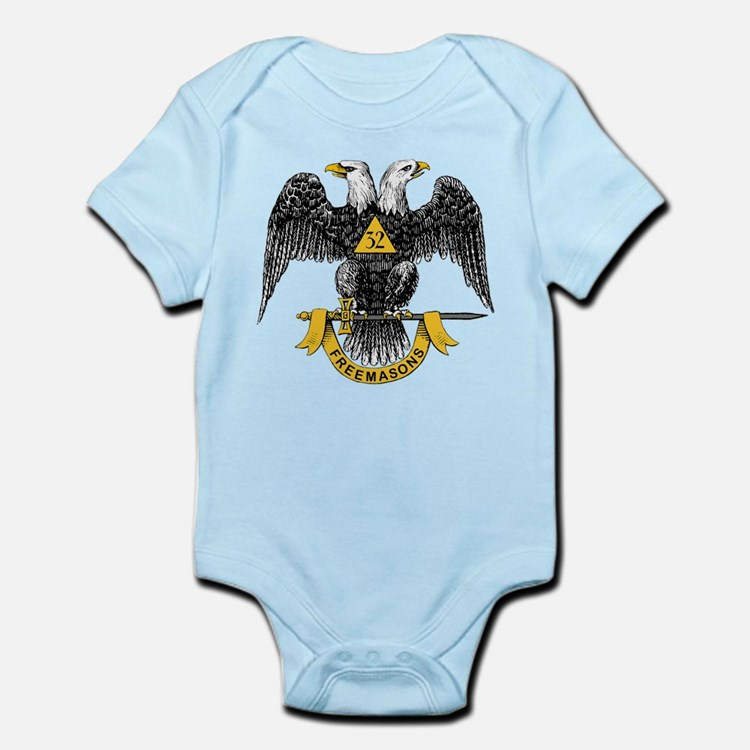 Scottish Rite Double Eagle Infant Bodysuit