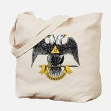 Scottish Rite Double Eagle Tote Bag