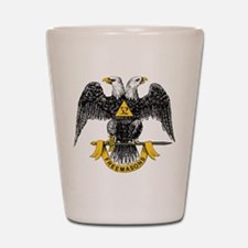 Scottish Rite Double Eagle Shot Glass