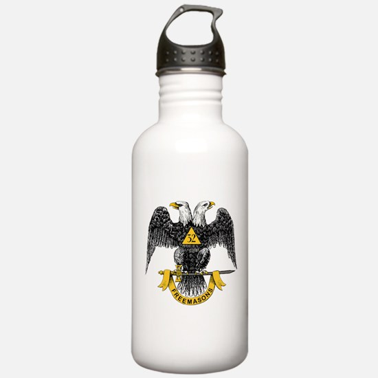 Scottish Rite Double Eagle Water Bottle
