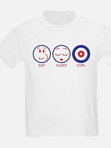 Eat Sleep Curl T-Shirt