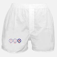 Eat Sleep Curl Boxer Shorts