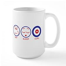 Eat Sleep Curl Mug