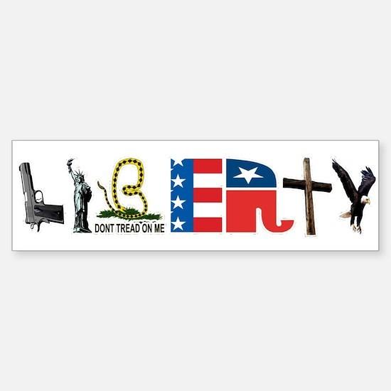 Liberty Sticker (Bumper)