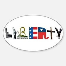 Liberty Sticker (Oval)