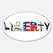 Liberty Sticker (Oval)