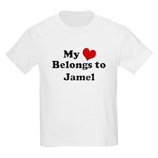 My Heart: Jamel Kids T-Shirt